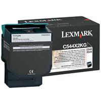 Lexmark C544X2KG OEM originales Cartucho de tóner láser