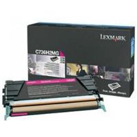 Lexmark C736H2MG Laser Toner Cartridge