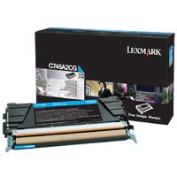 OEM Lexmark C746A2CG Cyan Laser Toner Cartridge