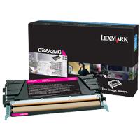 OEM Lexmark C746A2MG Magenta Laser Toner Cartridge