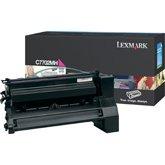 Lexmark C7702MH OEM originales Cartucho de tóner láser