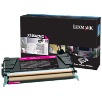 Lexmark X746A2MG Laser Toner Cartridge