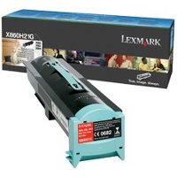Lexmark X860H21G Laser Toner Cartridge