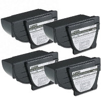 Lanier 117-0186 Black Laser Toner Cartridges (4/Pack)