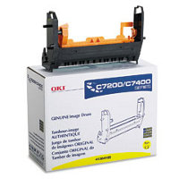 Okidata 41304105 Yellow Printer Drum