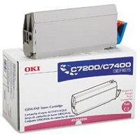 Okidata 41304206 Magenta Laser Toner Cartridge