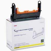Okidata 41962801 Yellow Printer Drum
