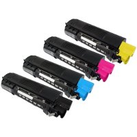 Okidata 43034801 / 43034802 / 43034803 / 43034804 Compatible Laser Toner Cartridge MultiPack