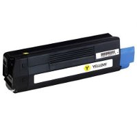 Compatible Okidata 43324466 Yellow Laser Toner Cartridge