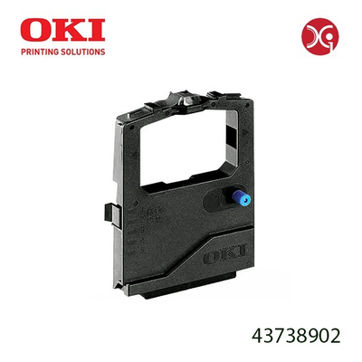 OEM Okidata 43738902 Black Printer Ribbon