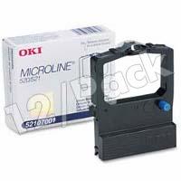 Okidata 52107001 Black Fabric Printer Ribbons (12/Pack)