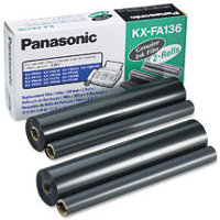 Panasonic KX-FA136 (Panasonic KXFA136) Thermal Transfer Refill Ribbons (2/Box)