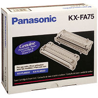 Panasonic KX-FA75 Black Laser Toner Cartridge / Drum