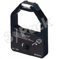 Compatible Panasonic KX-P155 (KXP155) Black Fabric Printer Ribbons (3/Box)