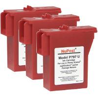 Pitney Bowes® 797-0 Compatible InkJet Cartridges (3/Pack)