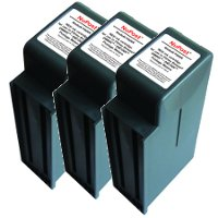 Pitney Bowes® 766-8 Compatible InkJet Cartridges (3/Pack)