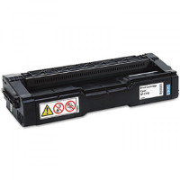 Compatible Ricoh 406476 Cyan Laser Toner Cartridge (Made in North America; TAA Compliant)