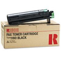 Ricoh 430347 Black Fax Laser Toner Cartridge
