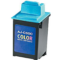 Sharp AJC50C (Sharp AJ-C50C) Compatible InkJet Cartridge