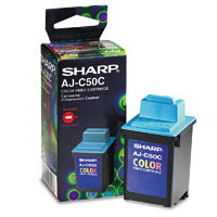 Sharp AJC50C Color InkJet Cartridge