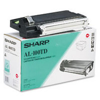 Sharp AL-100TD (AL100TD) Black Developer Laser Toner Cartridge