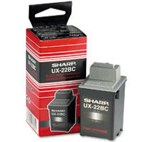 Sharp UX-22BC (UX22BC) Black Inkjet Cartridge