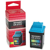 Sharp UX-27CC (UX27CC) Color Inkjet Cartridge