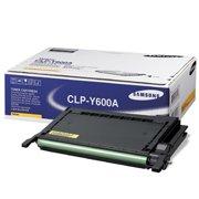 Samsung CLP-Y600A OEM originales Cartucho de tóner láser