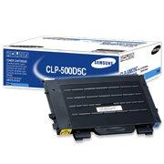 Samsung CLP-500D5C (Samsung CLP500D5C) Cyan Laser Toner Cartridge