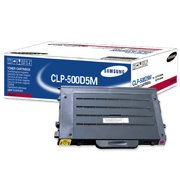 Samsung CLP-500D5M (Samsung CLP500D5M) Magenta Laser Toner Cartridge