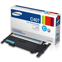 Samsung CLT-C407S Laser Toner Cartridge