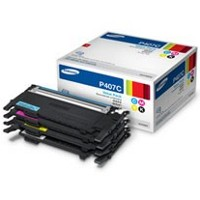 Samsung CLT-P407C Laser Toner Cartridge Value Pack