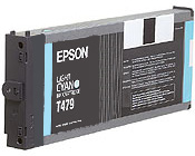 Epson T479011 Light Cyan Inkjet Cartridge
