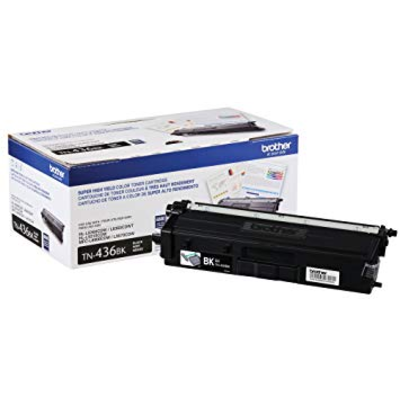 OEM Brother TN-436BK (TN436BK) Black Laser Toner Cartridge