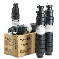 Toshiba T3500 Black Laser Toner Cartridges (4/Pack)