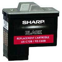 Sharp UX-C70B Black Inkjet Cartridge